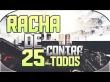 RACHA DE 25 EN CONTRA TODOS | BLACK OPS 1