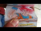 V�deo: EPIC BATTLLE !!!! Goku vs Superman flipbook animation full version by etoilec1