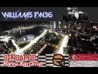 V�deo: Rfactor marina bay lap with williams fw36
