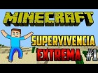 V�deo Minecraft: THE WALKING DEAD!! ZOMBIS A LO LOCO - EP. 1 - SUPERVIVENCIA EXTREMA (HARDCORE)