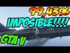V�deo: CARRERA 99,43% IMPOSIBLE!!!! NO PUEDES SER!! GTA 5 MUY RARO! ACROBACIAS BRUTALES!!!!!!