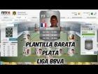 Fifa 14 Ultimate Team | Plantilla Barata 20K | Plata - Liga BBVA