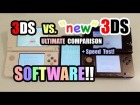 V�deo: 3DS vs. NEW Nintendo 3DS - ULTIMATE COMPARISON [Software]