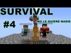 """V�deo: SURVIVAL GUTSIO #4 / """"NADIE LE QUIERE"""" c/ OnlyGulivert , Aleray5 y DarkGamerPvP"""