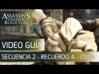 Assassin's Creed 4 Black Flag | Walkthrough - Secuencia 2 - Recuerdo 4 al 100%