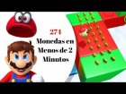 Video: 274 Monedas en menos de 2 minutos: Super Mario Odyssey