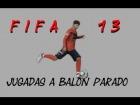 FIFA 13 - TRUCO DE TIROS LIBRES (EFECTO DEL DIABLO)