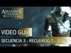 Assassin's Creed 4 Black Flag Walkthrough - Secuencia 3 - Un hombre loco al 100%