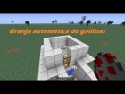 Tutoriales minecraft - Hacer granja autom�tica de gallinas