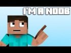 "V�deo Minecraft: ""I'm a Noob"" - Minecraft Parody of Fun's Some Nights (Music Video)"