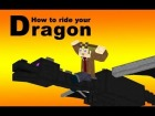 How to Ride an Ender Dragon in vanilla Minecraft
