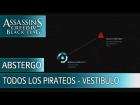 Assassin's Creed 4 Black Flag - Todos los pirateos - Planta Baja Vestibulo