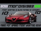 V�deo: 10.GAMEPLAY COMENTADO DE NFS MOST WANTED 2012: MOST WANTED 10 ALFA ROMEO 4C CONCEPT