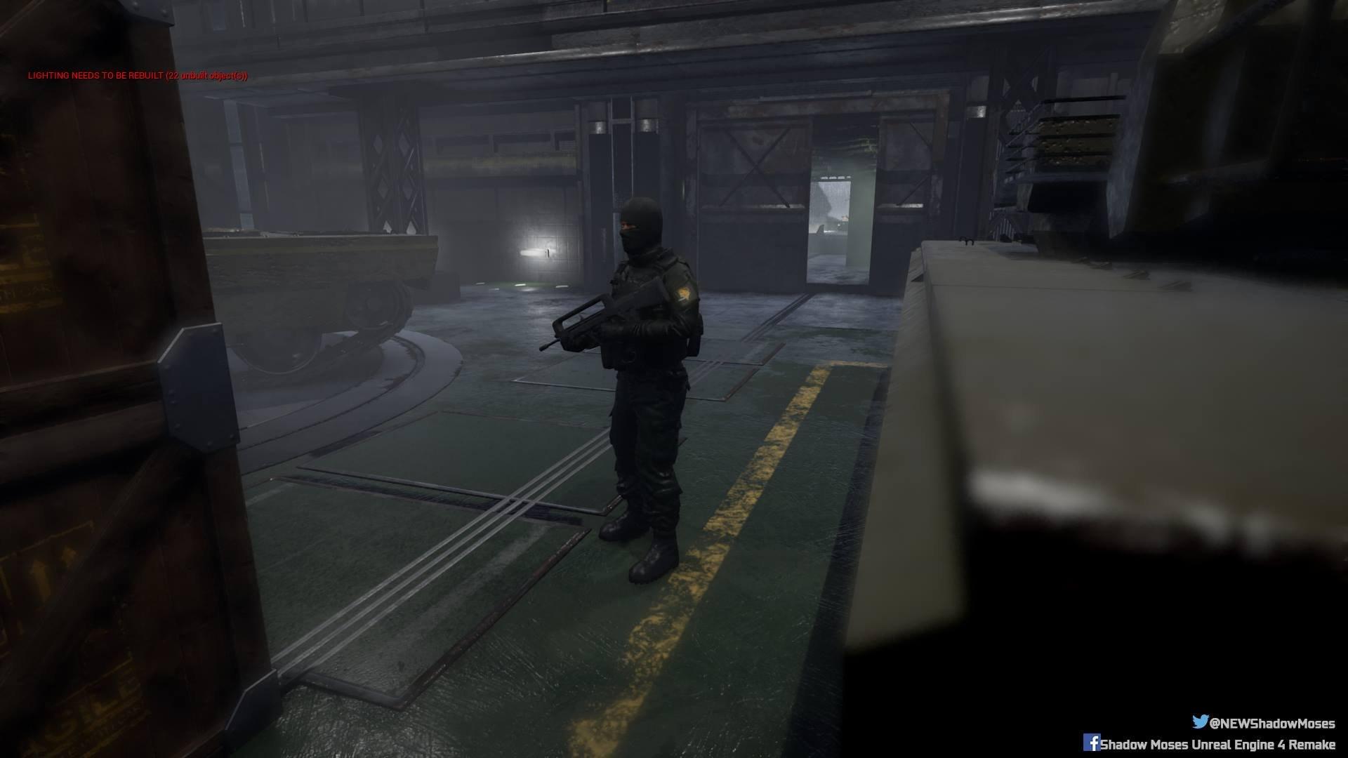 Shadow Moses, el ambicioso remake patrio de Metal Gear Solid en Unreal Engine 4 Shadow_moses-3266412