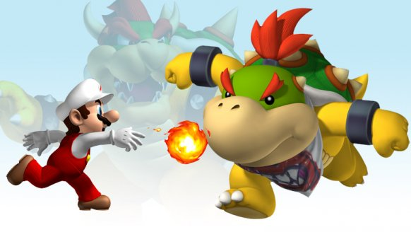 New Super Mario Bros. opens in the American Virtual Console