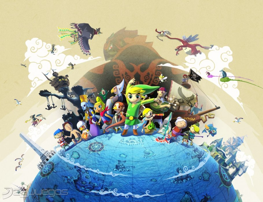 Imagen The Legend of Zelda: The Wind Waker Wii U - 3DJuegos