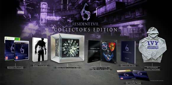 Edici&oacute;n coleccionistas Resident Evil 6