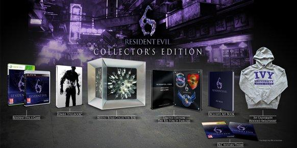 Edición coleccionistas Resident Evil 6