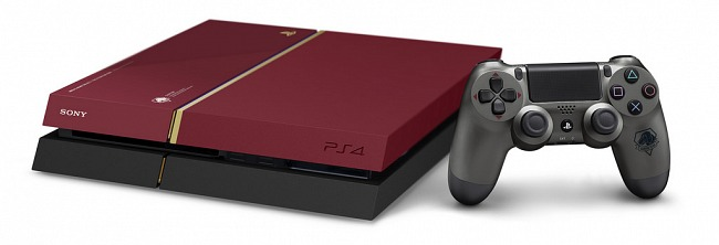 The Limited Edition PlayStation 4 with Metal Gear Solid 5