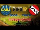 Video: FIFA 17 - Modo carrera: Boca Juniors vs. Independiente