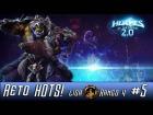 Video: Heroes of the Storm 2.0! RETO HOTS!! LIGA ORO - RANGO 4! La arena nos espera!!!