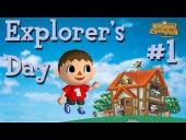 Video Animal Crossing - Vamos a celebrar con Animal Crossing Parte 1 - Explorer\\\'s Day