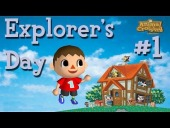 V�deo Animal Crossing - Vamos a celebrar con Animal Crossing Parte 1 - Explorer\\\'s Day