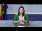 Video: Rueda de prensa de Irene Montero tras la junta de portavoces. 20 de Junio