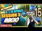 V�deo: DIRECTO ROCKET LEAGUE #15 v1.19 INICIO SESSION 3 + ESPA�A VS CROACIA Gameplay Espa�ol 2K 21:9