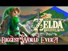 V�deo: Inside Zelda Breath of the Wild: Largest World Ever?! (Map Size)