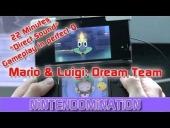V�deo Mario & Luigi: Dream Team - Mario & Luigi: Dream Team Bros. - 22 minutos de gameplay
