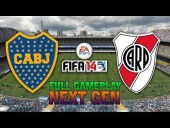 Video FIFA 14 - NEXT GEN FIFA 14 | BOCA - RIVER - FULL GAMEPLAY [HD+ XBOX ONE / PS4]