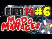 "V�deo FIFA 14 - FIFA 14 | Modo Carrera | Capitulo 6 #T1. ""CON UN POCO DE SURTE"""