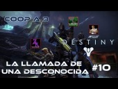 Video Destiny - Destiny - Walkthrough #10 - La llamada de una Desconocida - Coop - Dif�cil - Espa�ol- Gu�a 100%