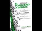 """V�deo: Pablo Iglesias y Luis Alegre en """"El populismo a debate"""""""
