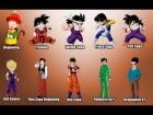 V�deo: Dragon Ball :La Evolucion de los Personajes en 30 a�os