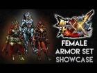Video: Monster Hunter XX: Female Armor Showcase (LR/HR/GRank) (SPOILER)