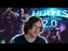 Video: Heroes of the Storm 2.0! Nuevo sistema de niveles y abrir cofres +50!!