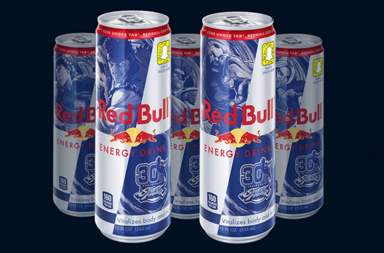 Red Bull celebra el 30 aniversario de la serie Street Fighter
