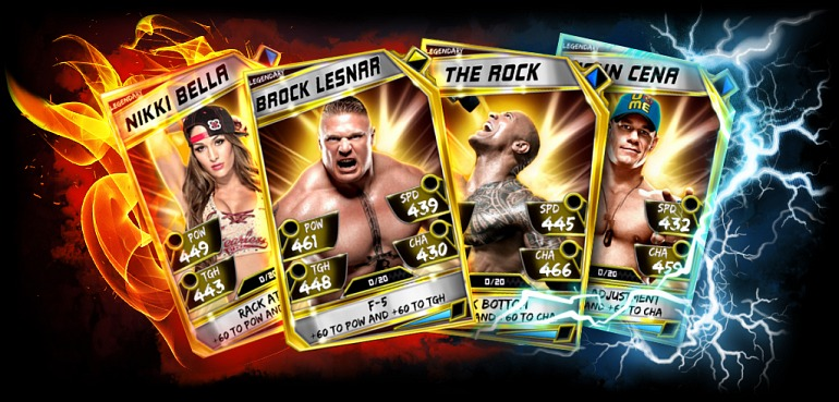 WWE Supercard estrenará su tercera temporada en noviembre de 2016