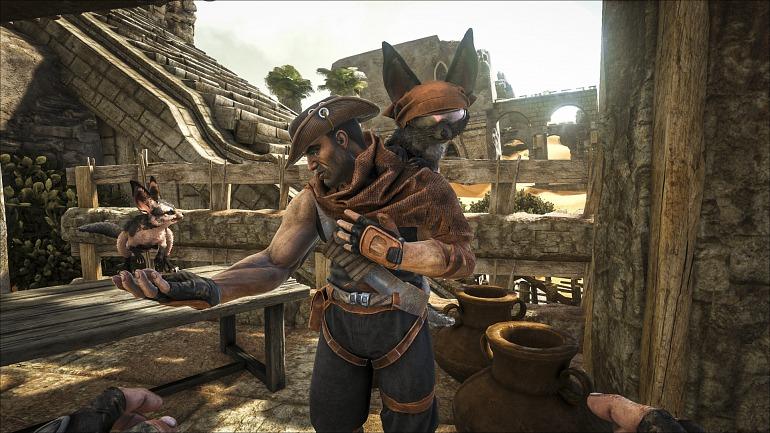 ARK: Survival Evolved detalla su funcionamiento en Xbox One X