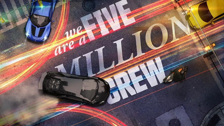 The Crew alcanza la cifra de cinco millones de jugadores