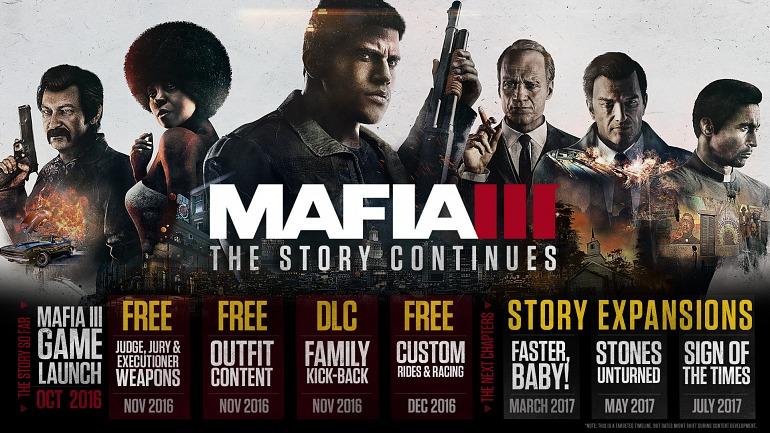 Mafia III recibe en marzo su primera gran expansión