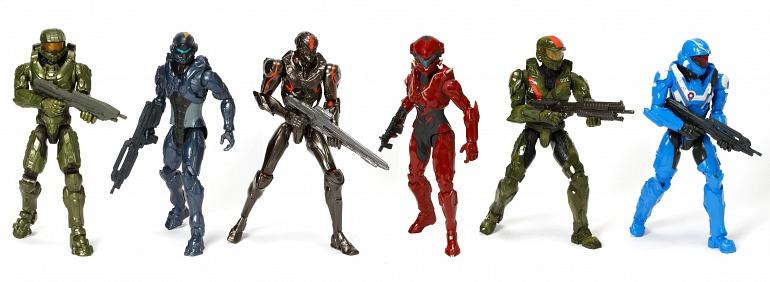 Mattel presenta sus nuevos juguetes de Halo