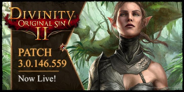 Divinity: Original Sin 2 se actualiza con un enorme tercer parche