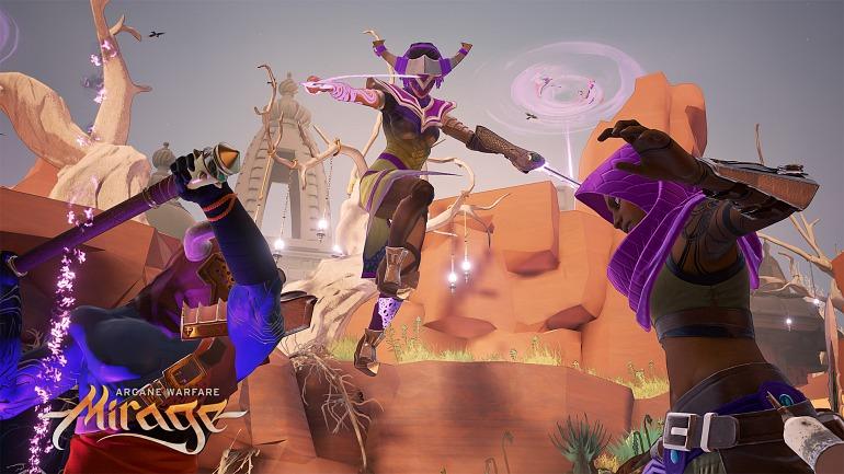 Más de un millón de jugadores se han hecho con Mirage Arcane Warfare