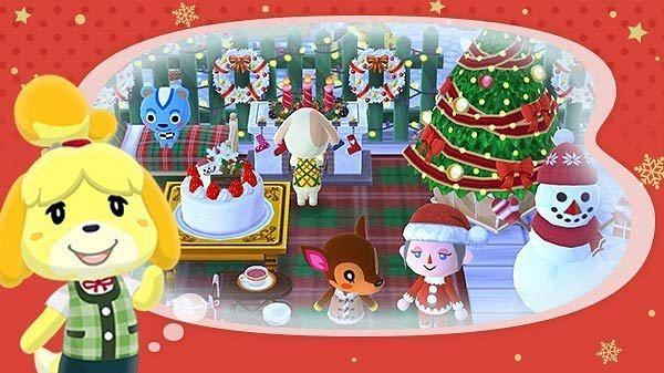 Animal Crossing: Pocket Camp comienza ya sus eventos navideños