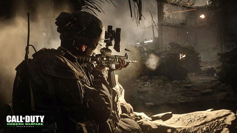 Modern Warfare Remastered aparece listado como producto independiente