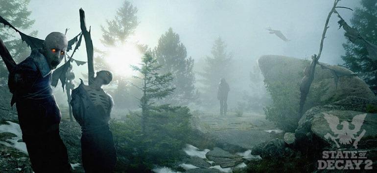 ¡Que vienen los zombis! State of Decay 2 presenta nueva ilustración