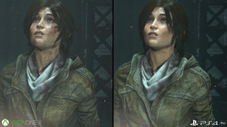 Diferencias entre los principales juegos mejorados de One X y PS4 Pro